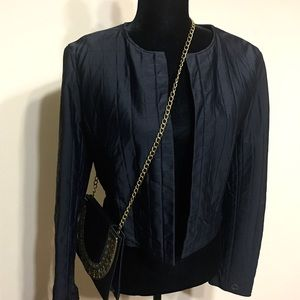 VTG CHANEL | Quilted Open Front c 2000 Jacket